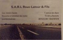 SARL Roux Latour et Fils